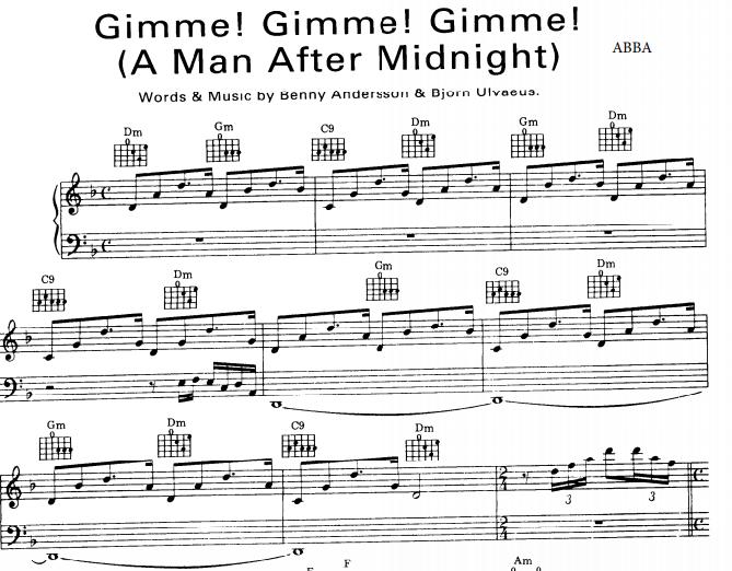 ABBA - Gimme Gimme Gimme