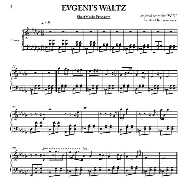 Abel Korzeniowski - Evgeni's Waltz