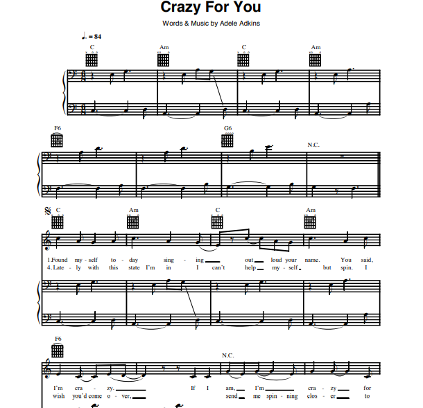 Adele - Crazy For You