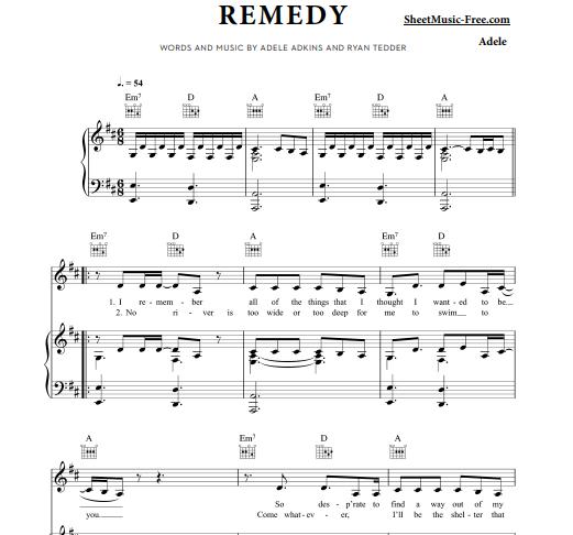 Adele - Remedy
