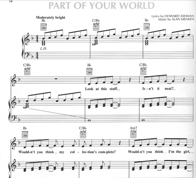 Alan Menken - Part of Your World