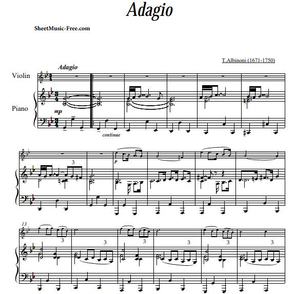 Albinon - Adagio