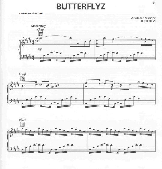 Alicia Keys & Brandi Carlile - Butterflyz