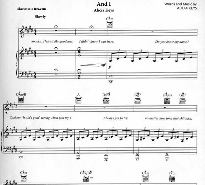 Alicia Keys - Piano And I