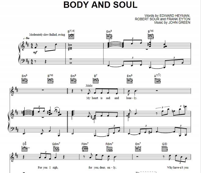 Amy Winehouse - Body And Soul