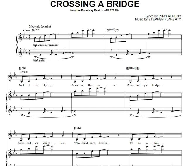 Anastasia - Crossing A Bridge