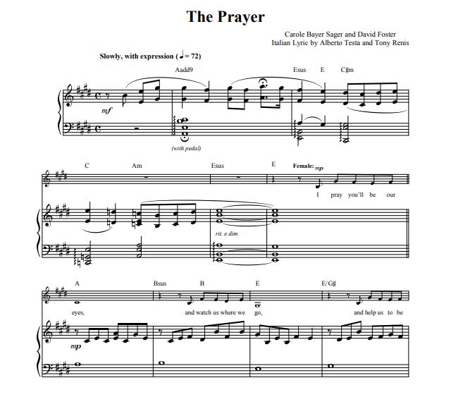 Andrea Bocelli - The Prayer