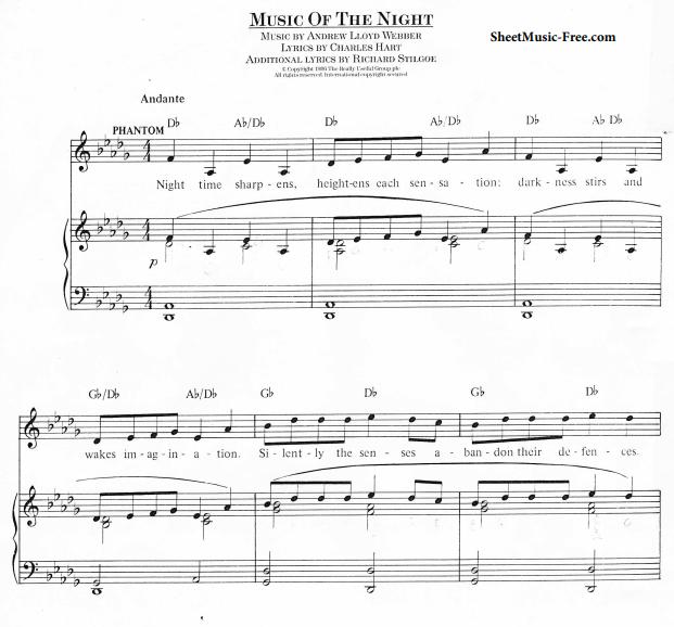 Andrew Lloyd Webber - Music Of The Night