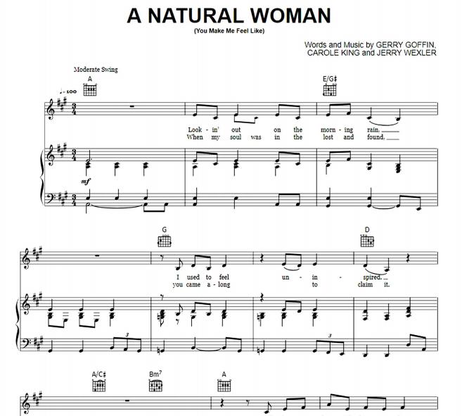 Aretha Franklin - A Natural Woman