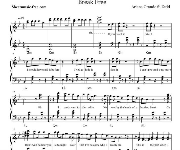 Ariana Grande - Break