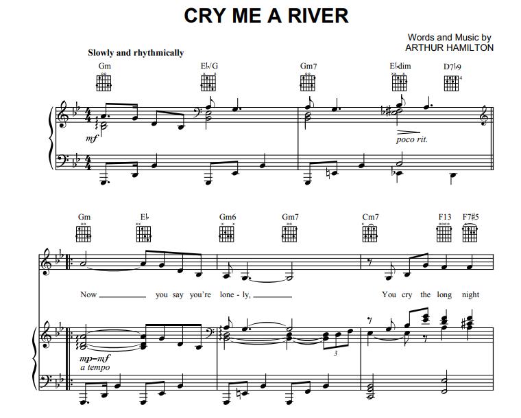 Barbra Streisand - Cry Me a River