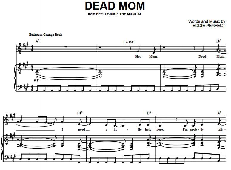 Beetlejuice - Dead Mom