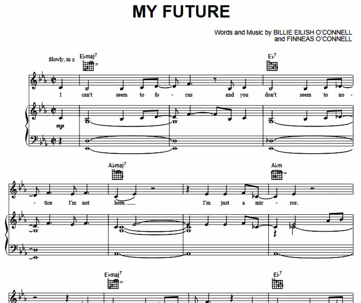Billie Eilish - My Future