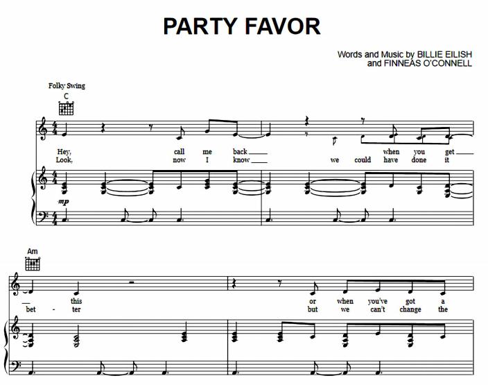 Billie Eilish - Party Favor
