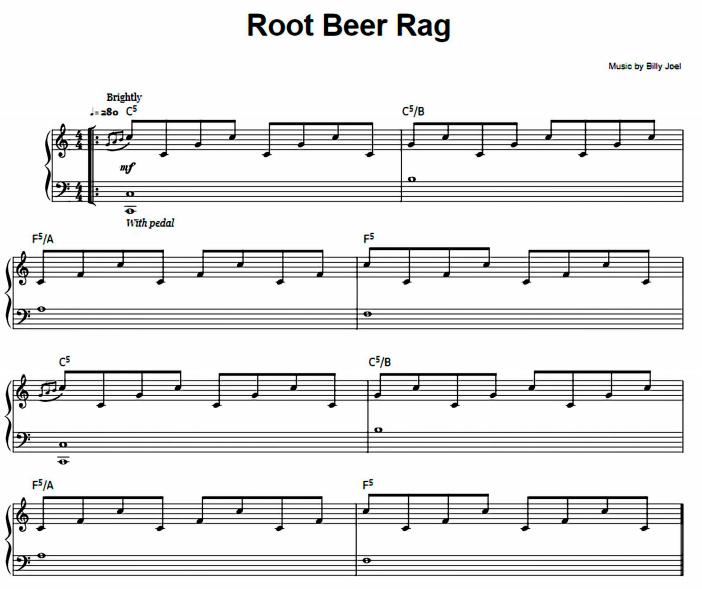 Billy Joel - Root Beer Rag