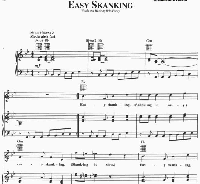 Bob Marley - Easy Skanking