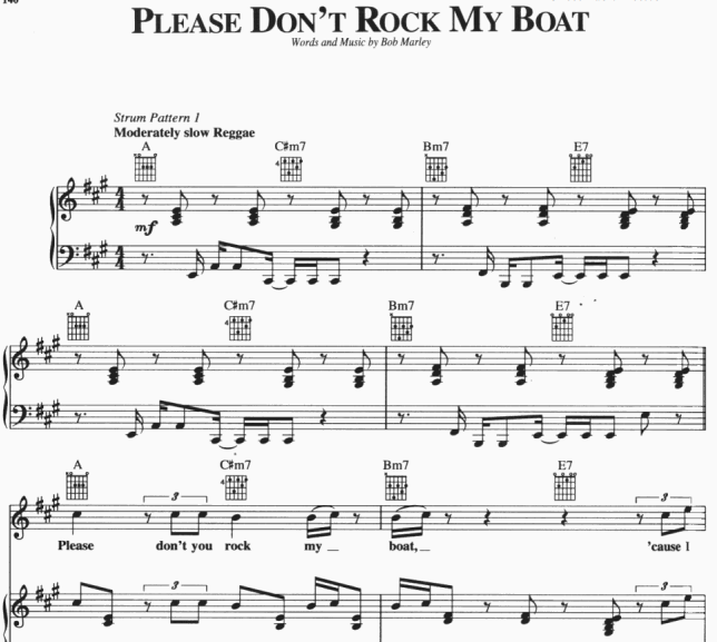 Bob Marley - Please Don't Rock My Boat