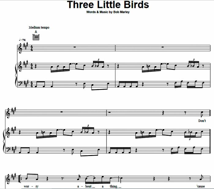 Bob Marley - Three Little Birds