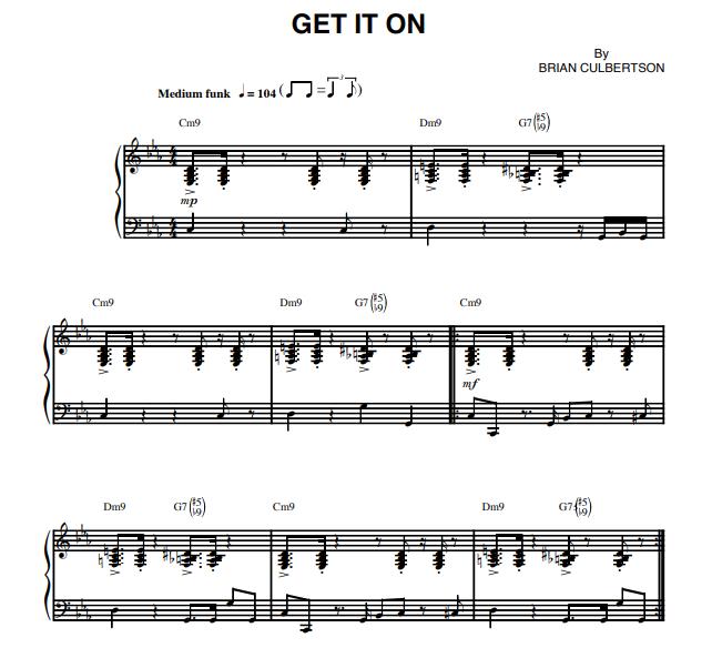 Brian Culbertson - Get It On