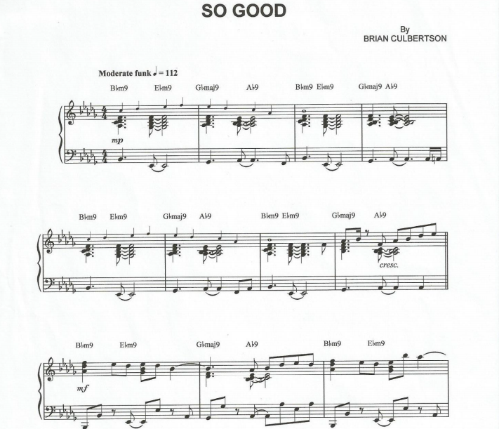 Brian Culbertson - So Good