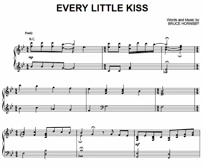 Bruce Hornsby - Every Little Kiss