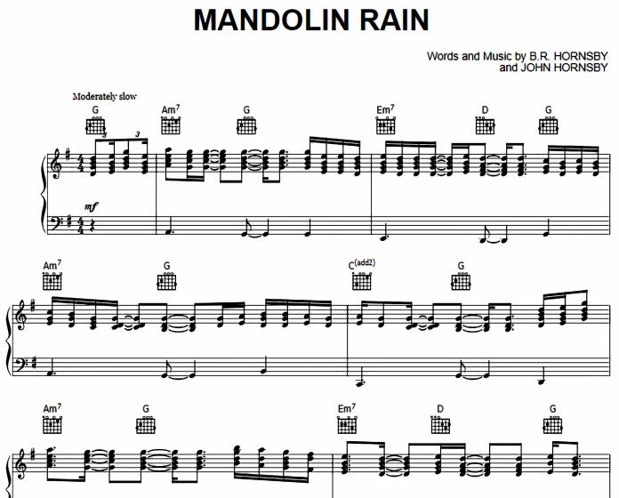 Bruce Hornsby - Mandolin Rain