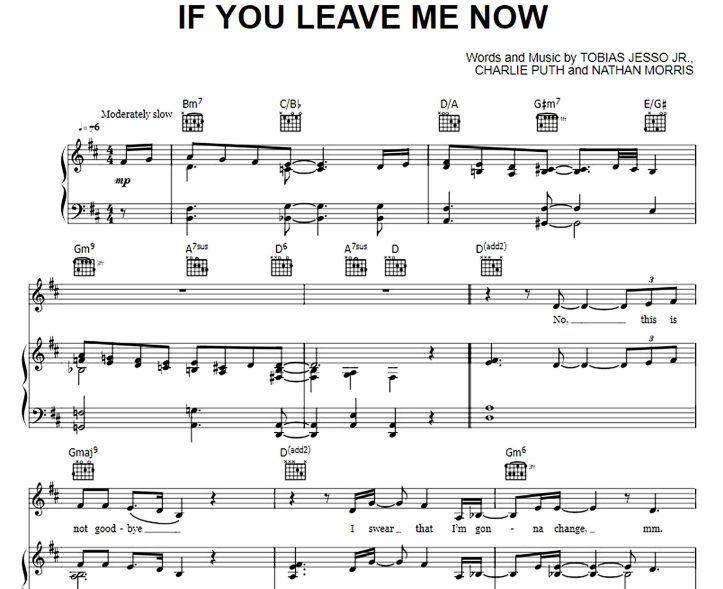 Charlie Puth ft Boyz II Men - If You Leave Me Now