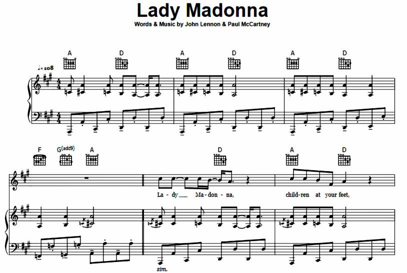 Lady Madonna