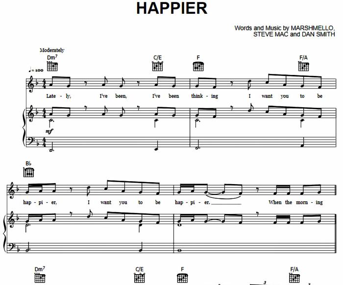 Marshmello and Bastille - Happier