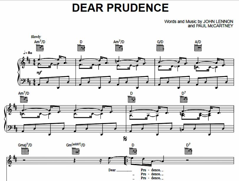 The Beatles - Dear Prudence