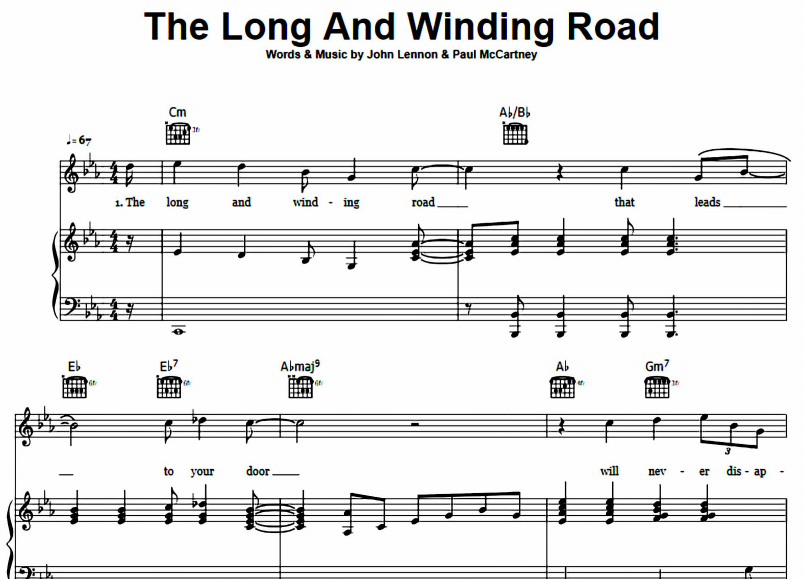 The Beatles - The Long and Winding Road