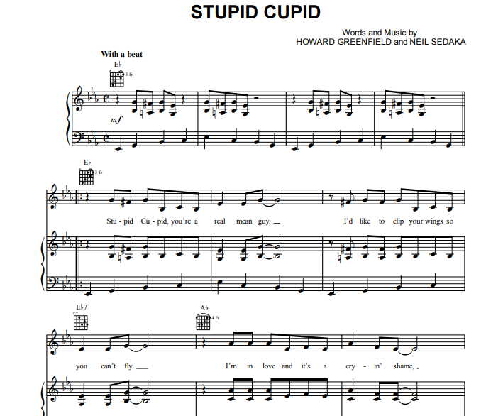 Connie Francis - Stupid Cupid
