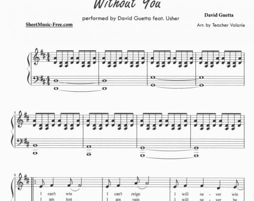 David Guetta feat Usher - Without You