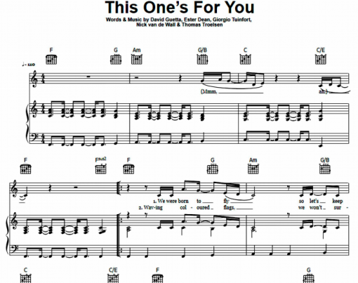 David Guetta ft Zara Larsson - This One's For You