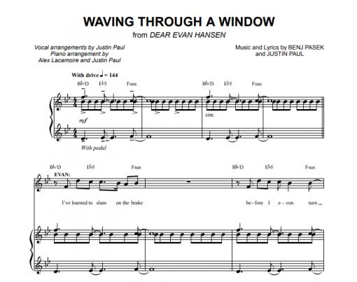 Dear Evan Hansen - Waving Through A Window