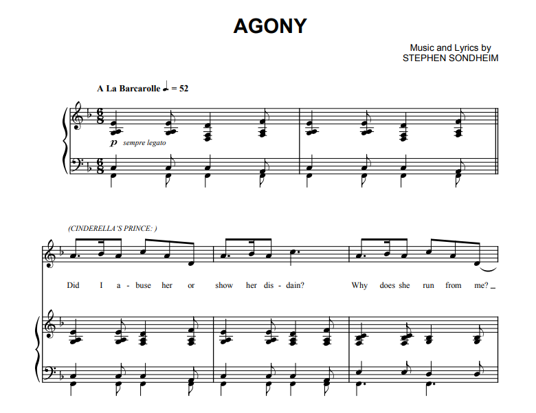 Into The Woods - Agony