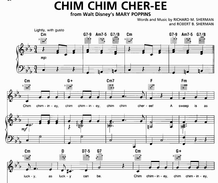 Mary Poppins - Chim Chim Cheree
