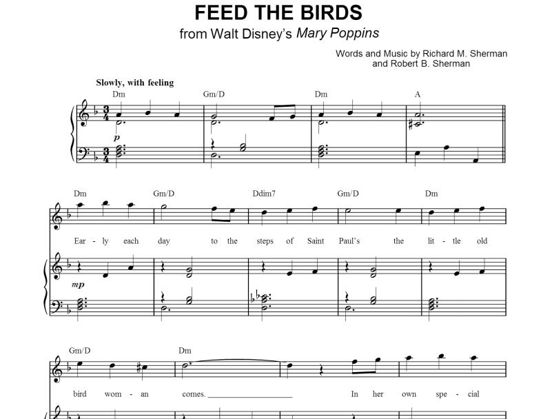 Mary Poppins - Feed The Birds