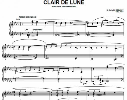 Debussy -Clair de Lune