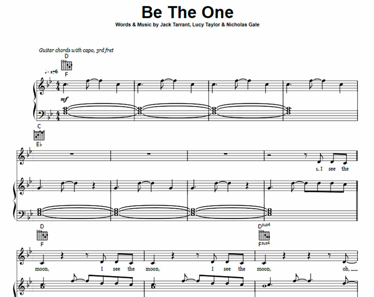 Dua Lipa - Be The One