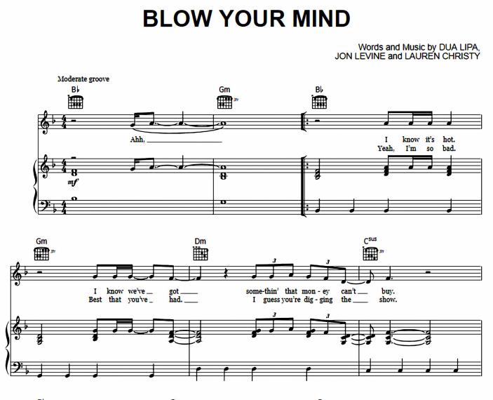 Dua Lipa - Blow Your Mind