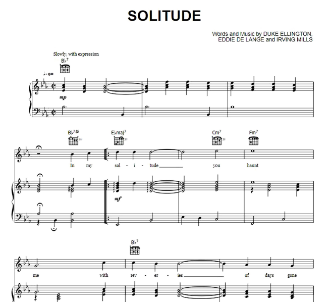 Duke Ellington - Solitude