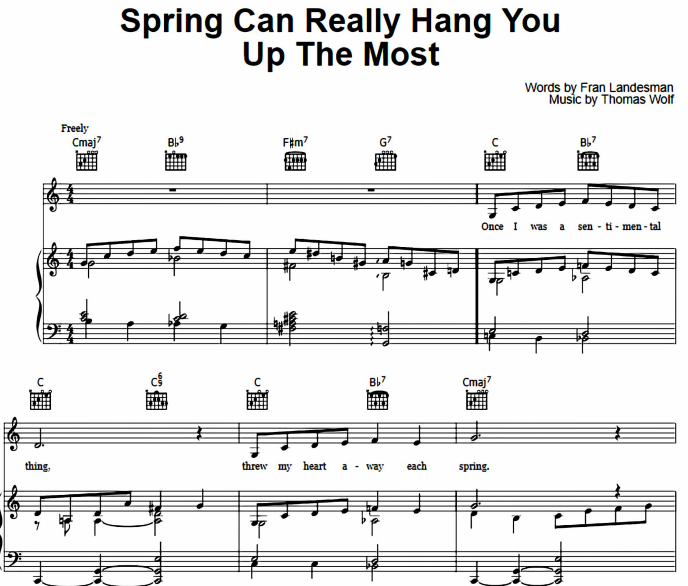 Ella Fitzgerald - Spring Can Really Hang You Up