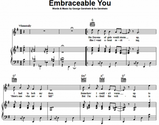 George Gershwin - Embraceable You