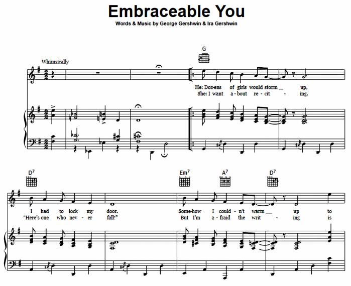 George Gershwin - Embraceable You