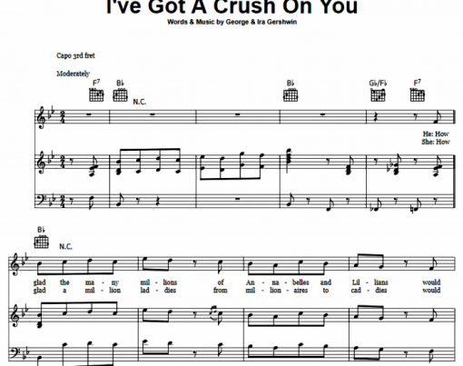 George Gershwin - I've Got A Crush On You