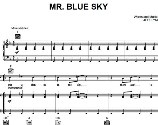 Electric Light Orchestra-Mr Blue Sky