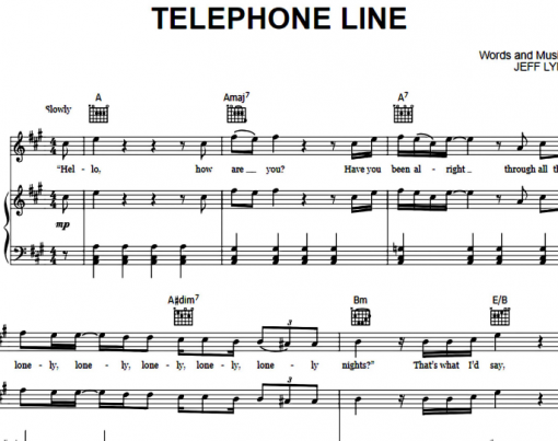 Electric Light Orchestra-Telephone Line