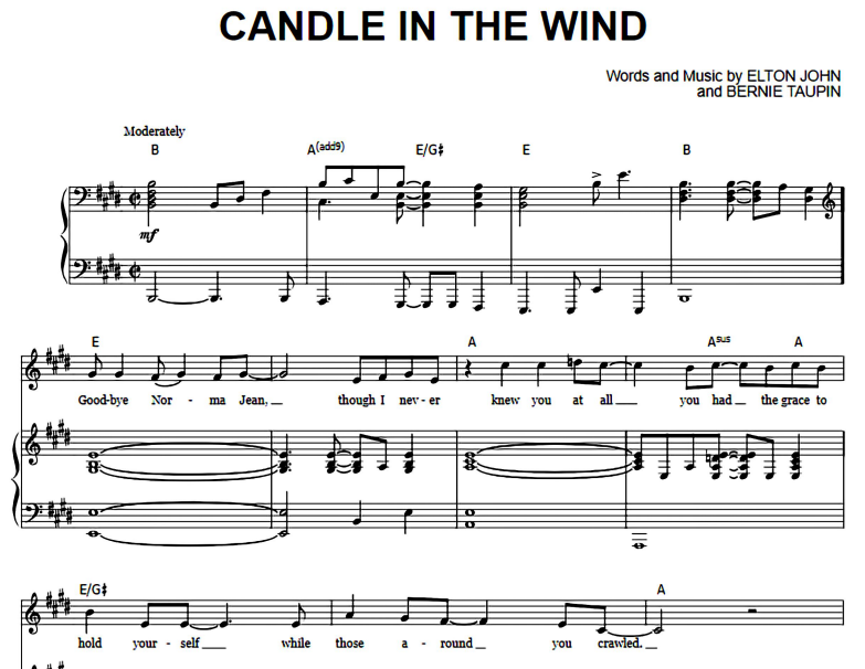 Elton John-Candle In The Wind