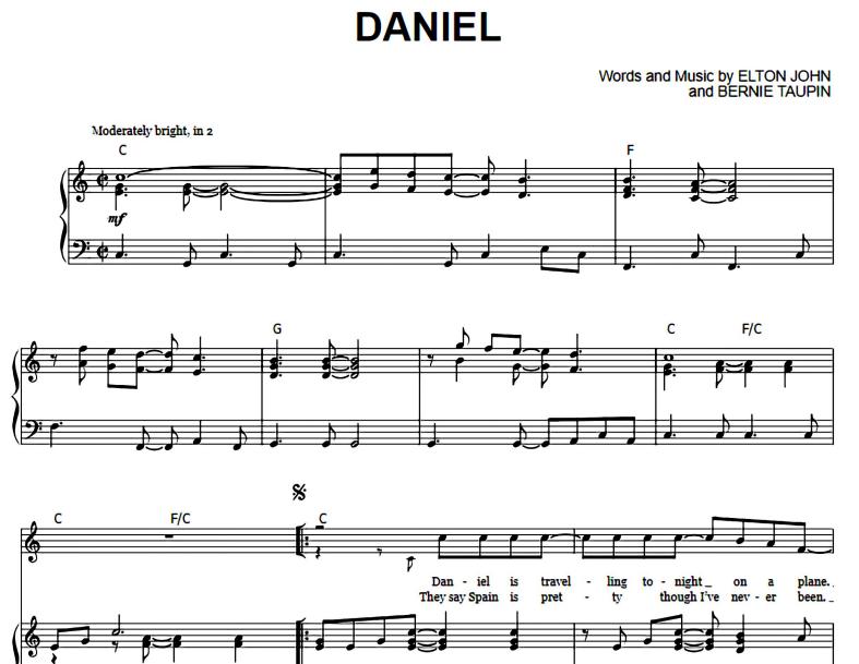 Elton John-Daniel